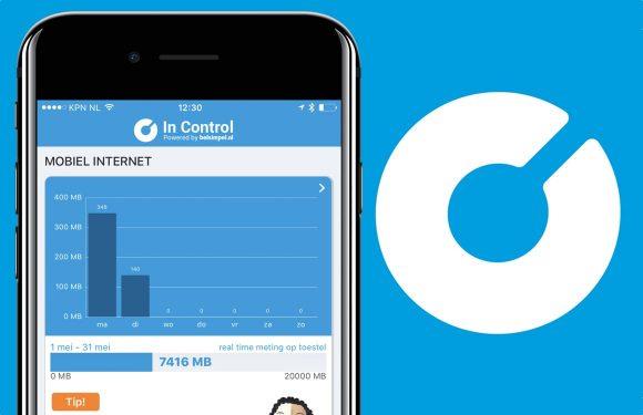 In Control: Handige app laat je slimmer omgaan met je databundel
