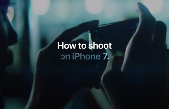 Apple geeft vier nieuwe videotips voor iPhone 7 fotografie