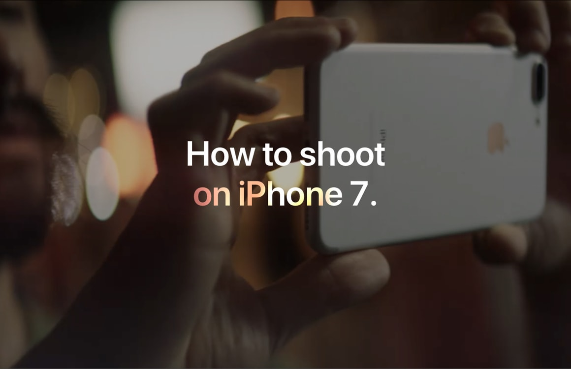 Apple geeft een spoedcursus iPhone-fotografie met nieuwe videoserie