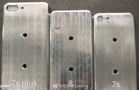 iPhone 8 mal gelekt: toestel iets groter dan iPhone 7