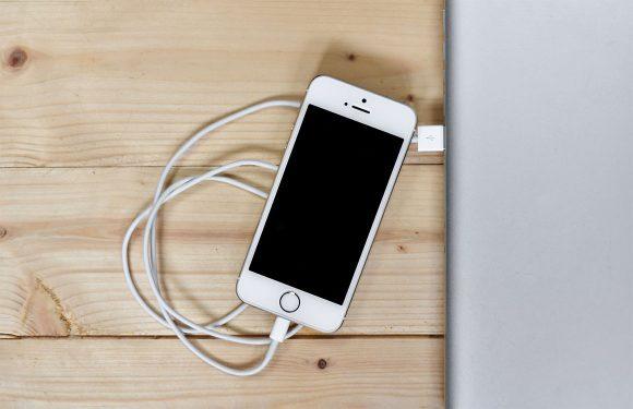 iphone laadt niet op