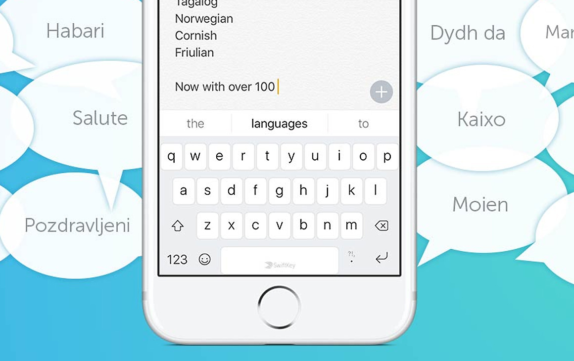 Toetsenbord SwiftKey past na design-update beter bij iOS