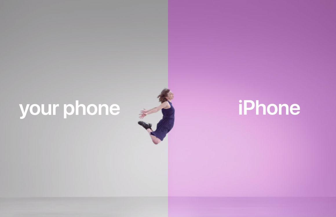 Video: Apple jaagt op Android-gebruikers met deze reclamecampagne