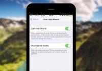 iPhone zoeken: 4 tips om je toestel terug te vinden