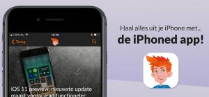 Nu beschikbaar: de officiële iPhoned-app!
