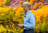 Apple stelt Craig Federighi aan als leider van Siri