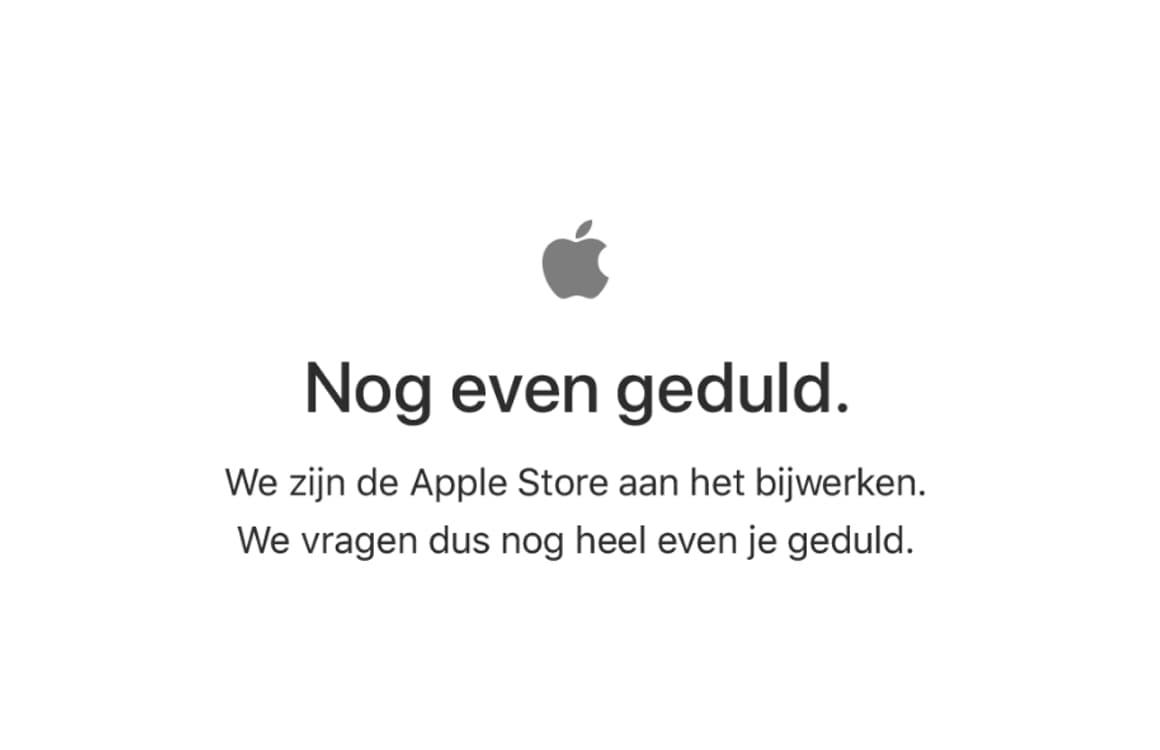 Apple Store offline in afwachting van nieuwe iPads en MacBooks