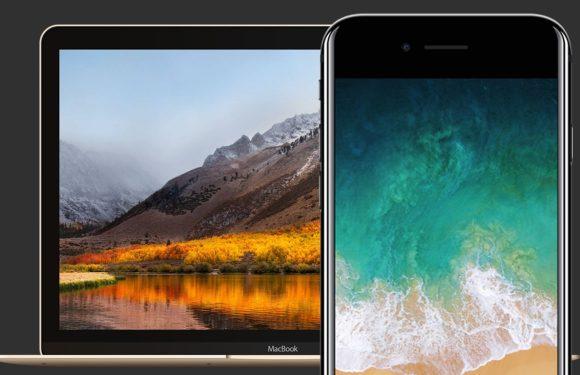 Downloaden: de nieuwe iOS 11- en macOS High Sierra-wallpaper