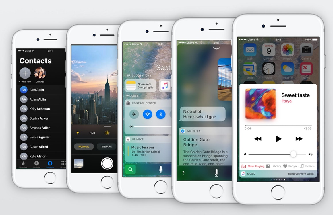 Conceptvideo toont opties iOS 11 op iPhone en iPad