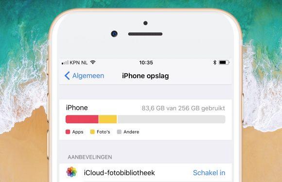 3 manieren waarop iOS 11 meer opslagruimte bespaart dan ooit