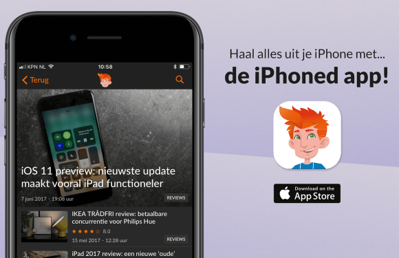 Download de iPhoned-app nu gratis in de App Store!