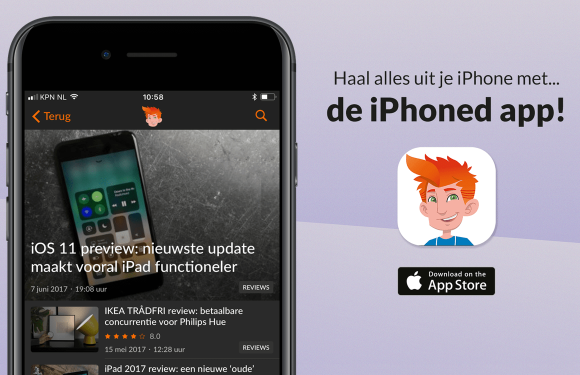 Download de iPhoned-app nu gratis in de App Store!