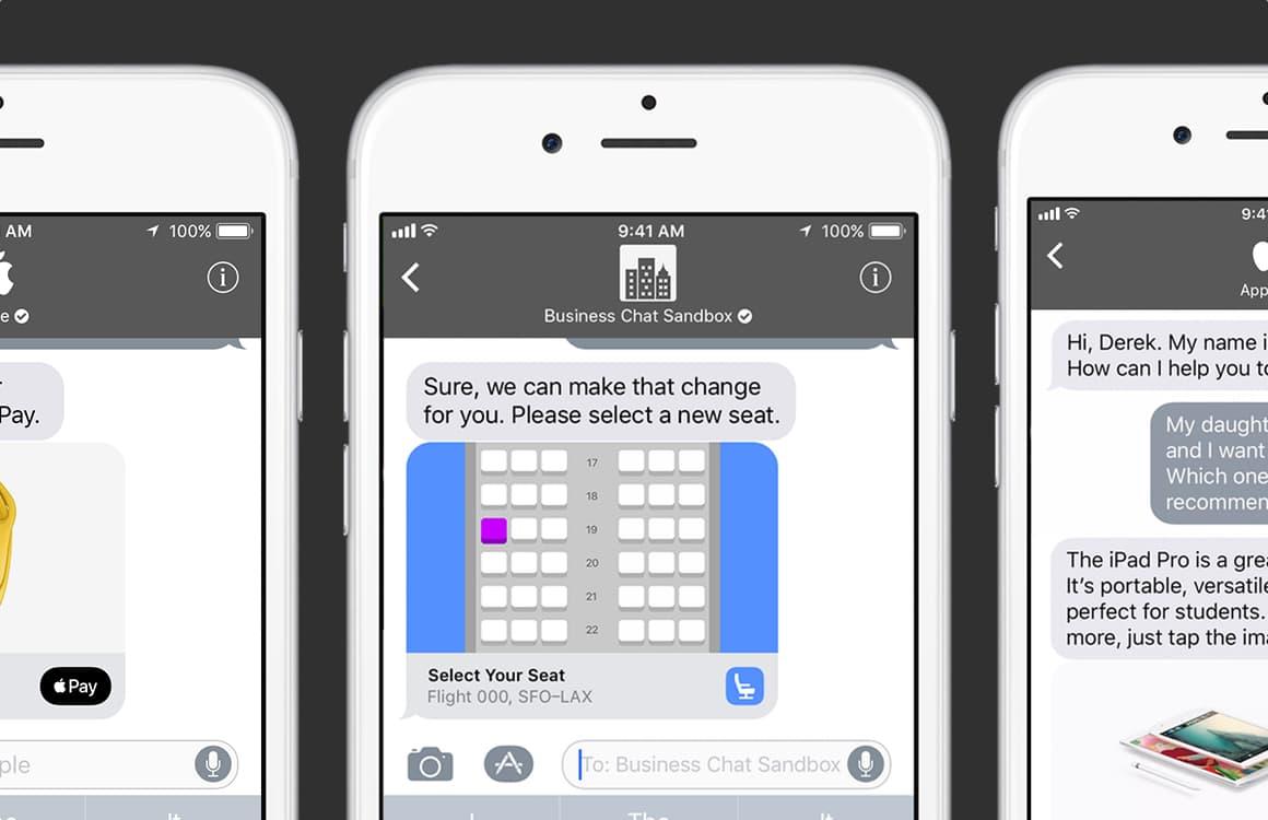 iMessage Business Chat: praat met bedrijven in Apples chat-app