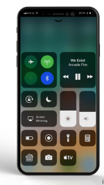 iPhone 8 iOS 11 concept