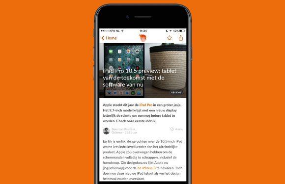 Nieuwsoverzicht week 24: iPhone 8 renders en iPad Pro 10.5 preview