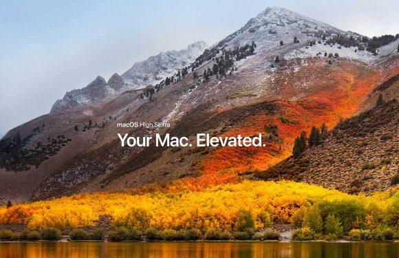 MacOS High Sierra preview: Vooral vernieuwend op de achtergrond