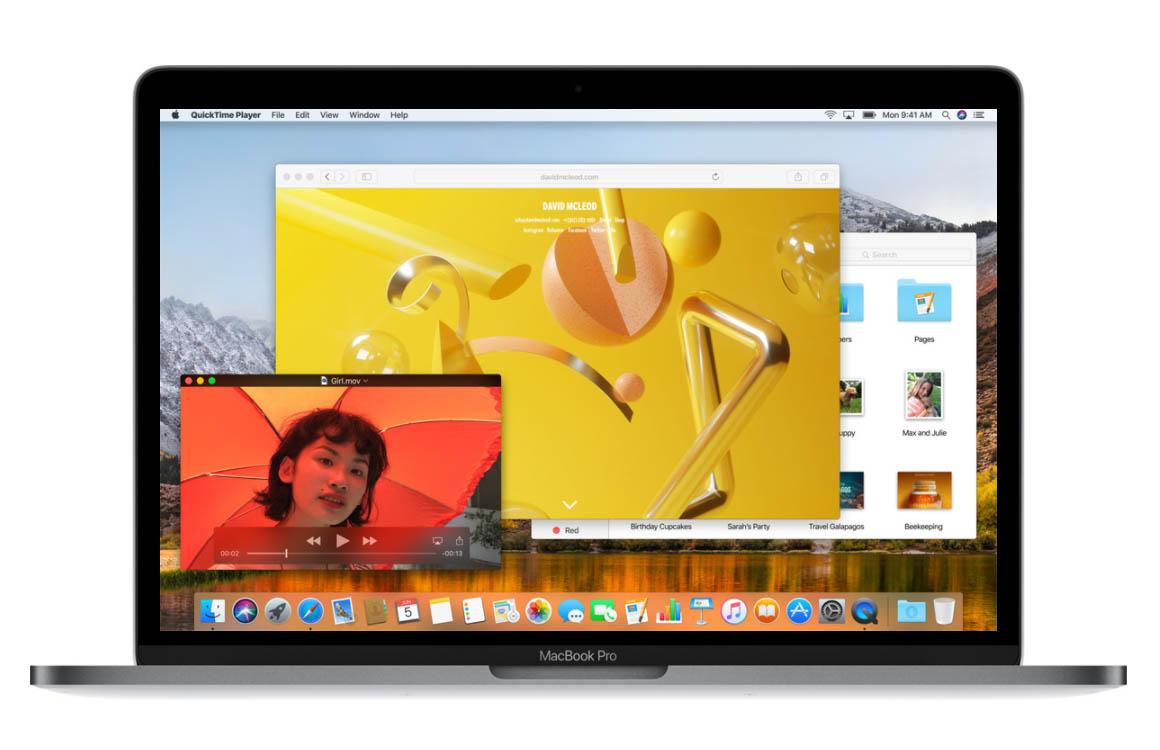 macOS High Sierra functies