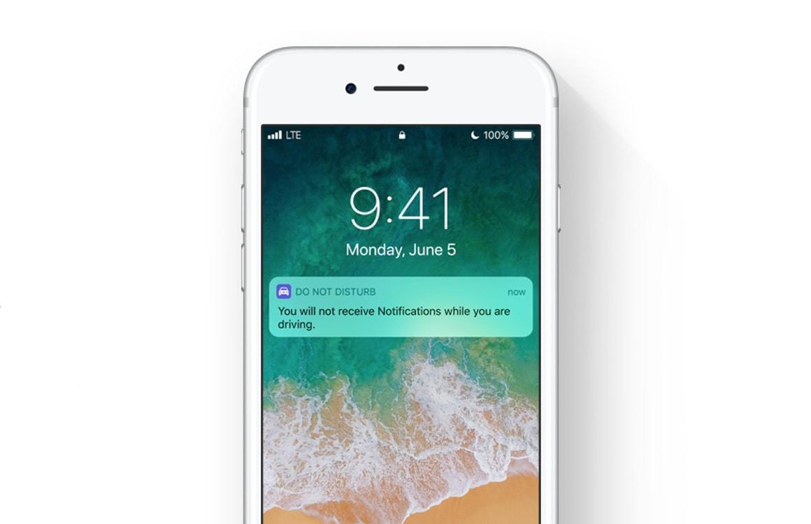 iOS 11 maakt autorijden veiliger met nieuwe iPhone-automodus