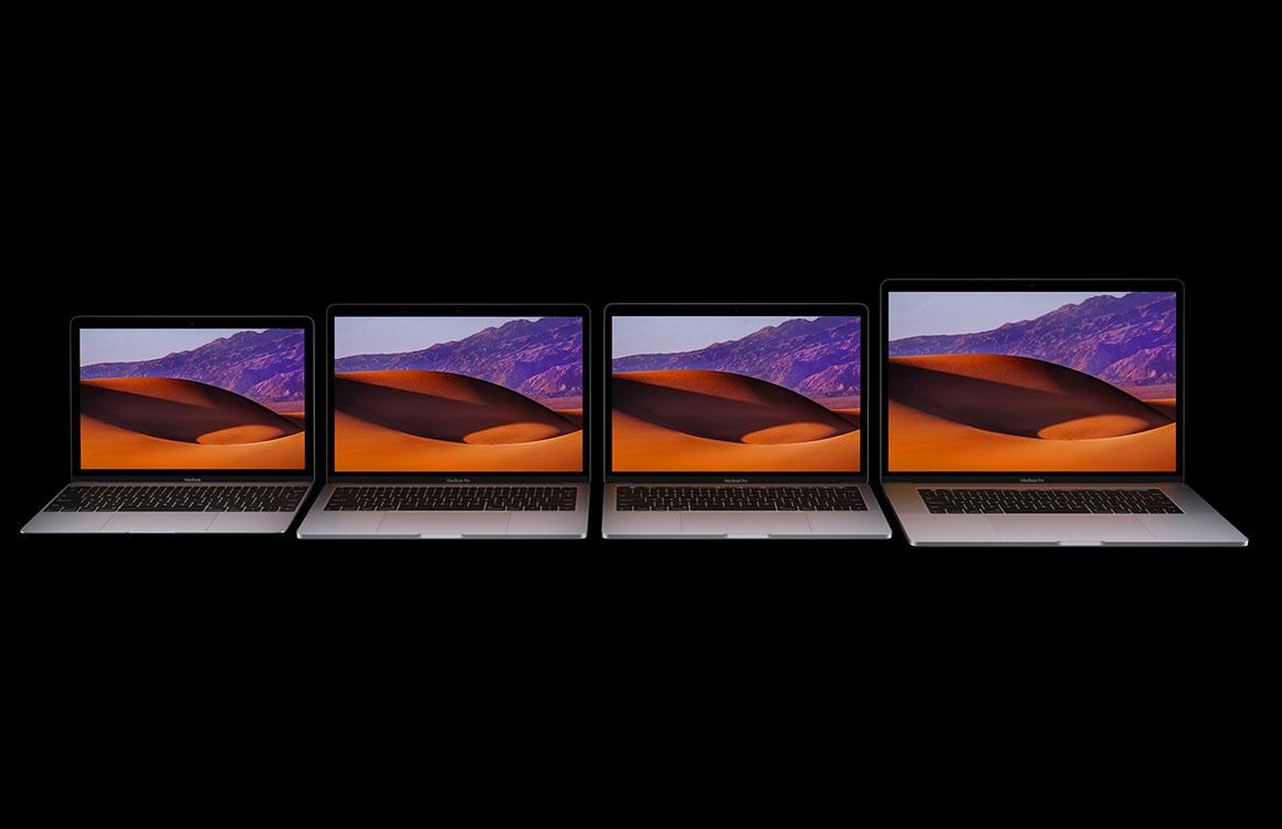 Apple presenteert upgrades voor alle MacBooks op WWDC