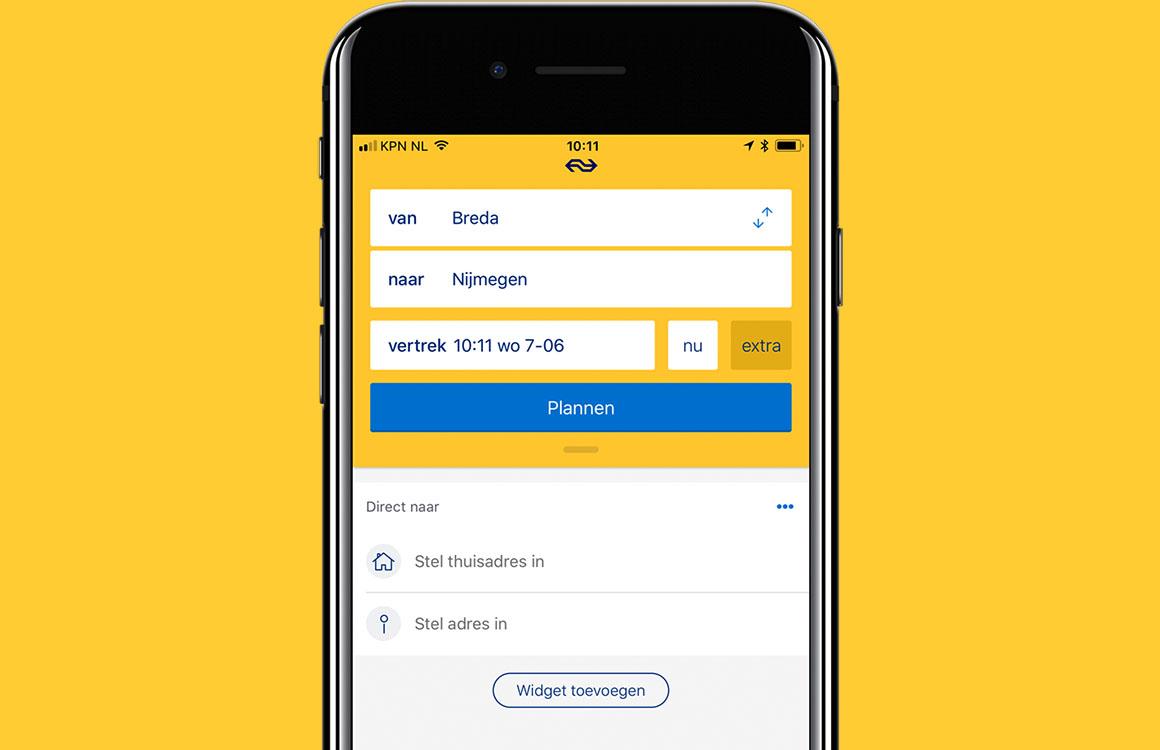 NS Reisplanner Xtra-app krijgt compleet nieuw design en meer