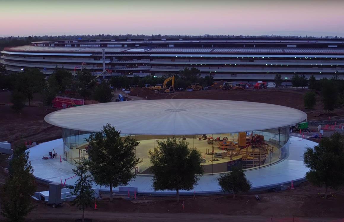 Video: Apple zet het licht aan in het Steve Jobs Theater