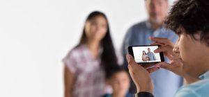 iPhones gebruiken met een visuele beperking