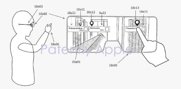 Apple bril augmented reality