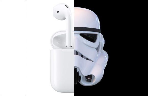 Jony Ive baseerde AirPods-design op helmen van Stormtroopers
