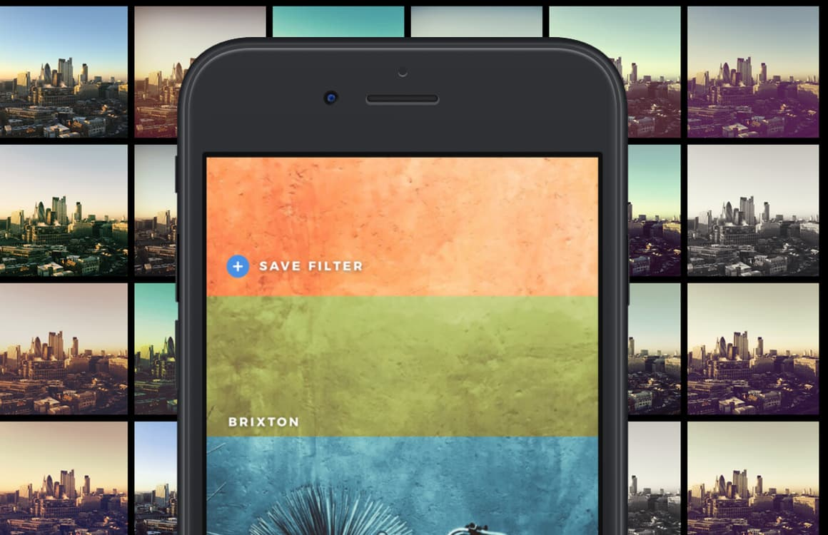 Download flitsende filter-app Infltr nu gratis via de Apple Store-app