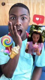instagram stories reageren