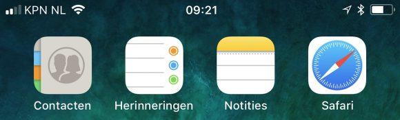 iOS 11 bèta 4
