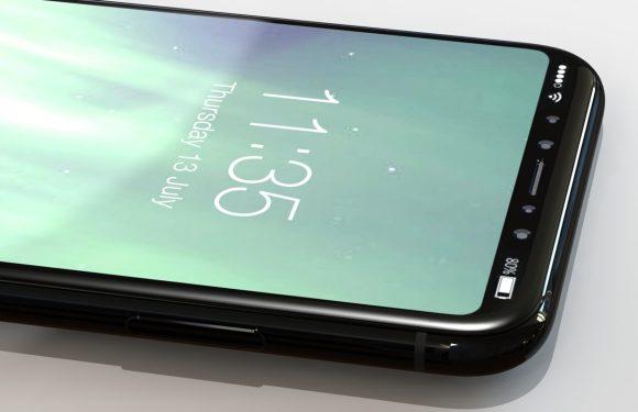 Nieuw iPhone 8-concept toont dubbele frontcamera en statusbalk