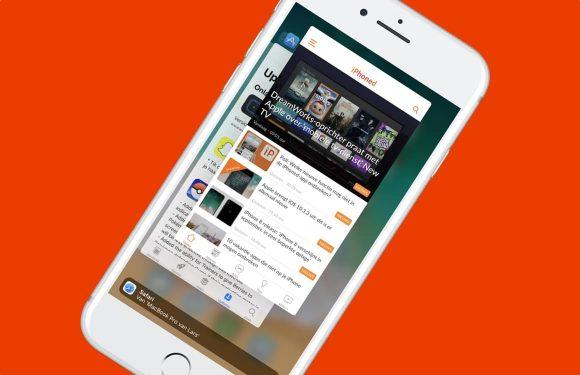 iPhone-apps geforceerd afsluiten