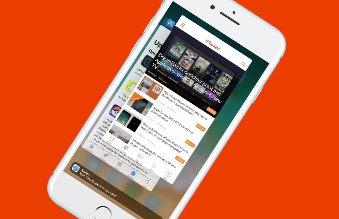 Tip: iOS-apps geforceerd sluiten is slecht voor je iPhone