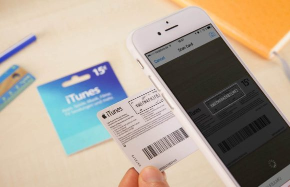 De slimme manier waarop camera's iTunes-codes inscannen