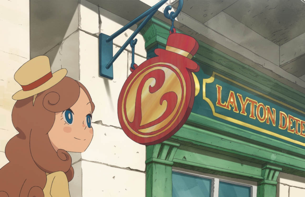 Ontrafel een mysterieus complot in Layton's Mystery Journey