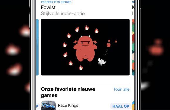 nieuwe app store