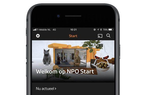 NPO-app vernieuwd met betaald abonnement voor hd-video
