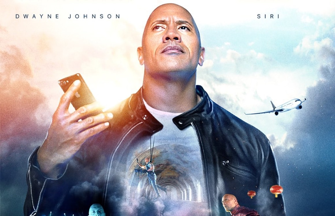 Kijken: Apple presenteert Siri-film met Dwayne The Rock Johnson