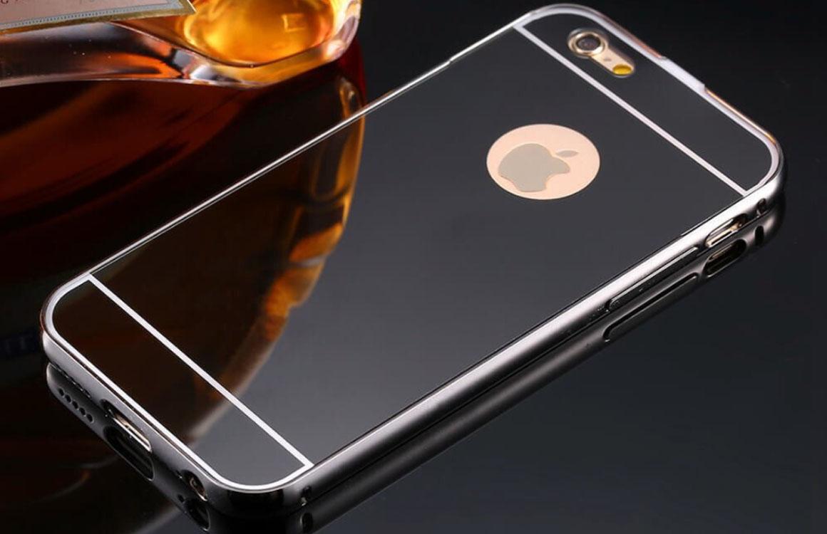 'Nieuwe iPhone krijgt spiegelende kleur-optie'