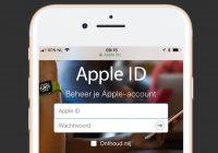 Onderzoekers testen Apple ID-inlogbeveiliging en ontdekken zwakke plek