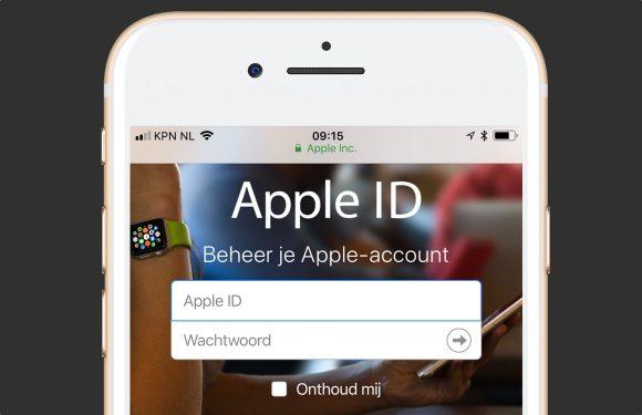 Zo simpel is het om een Apple ID-wachtwoord te stelen