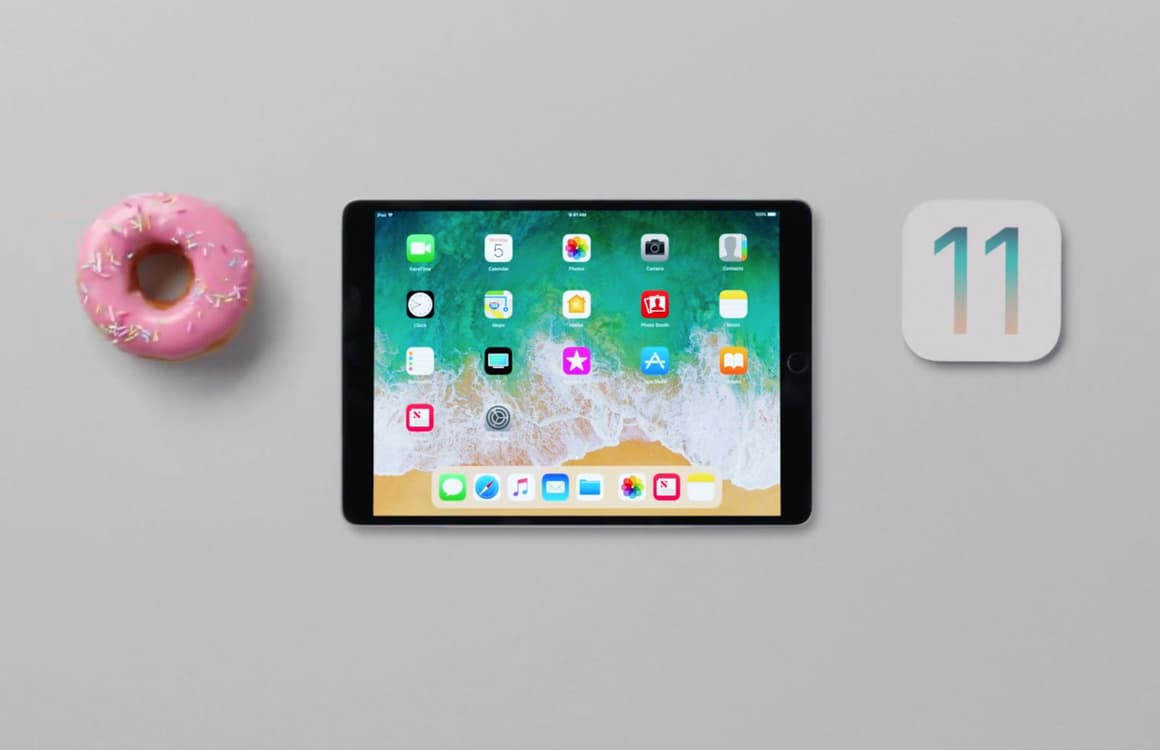Apple demonstreert iOS 11 op de iPad met 6 handige video's