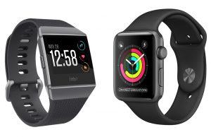 Apple Watch vs Fitbit Ionic