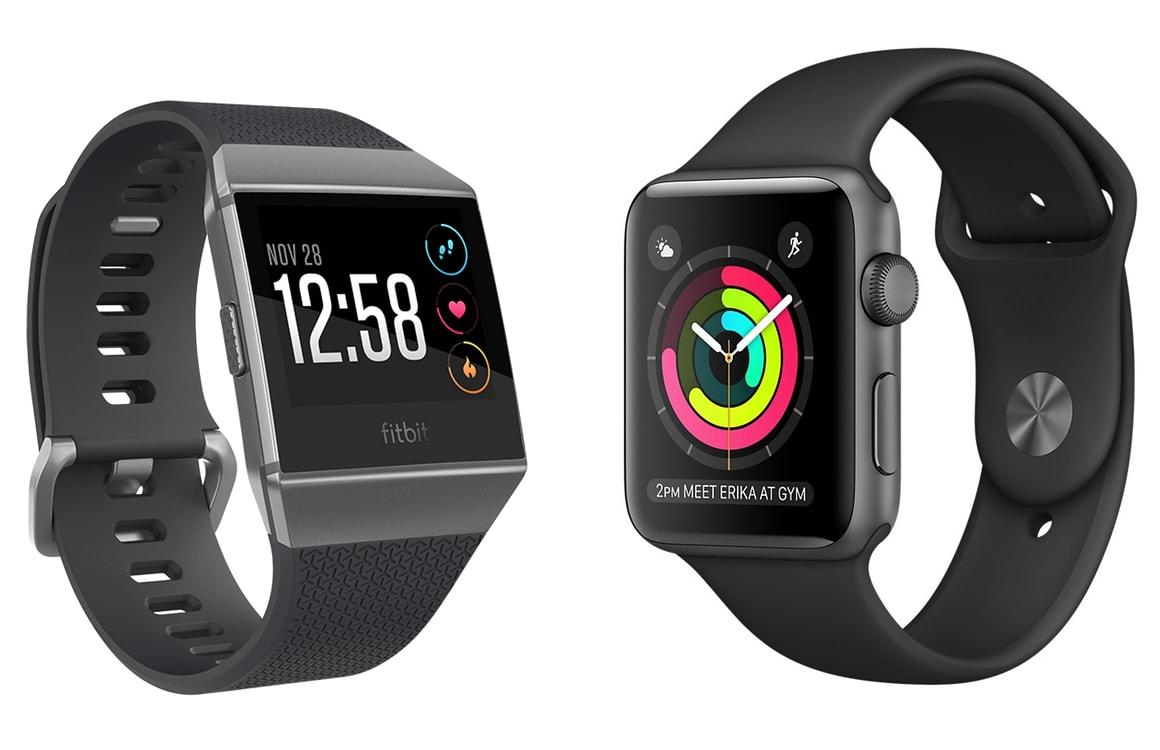 Apple Watch Series 2 vs Fitbit Ionic: slimme sporthorloges vergeleken