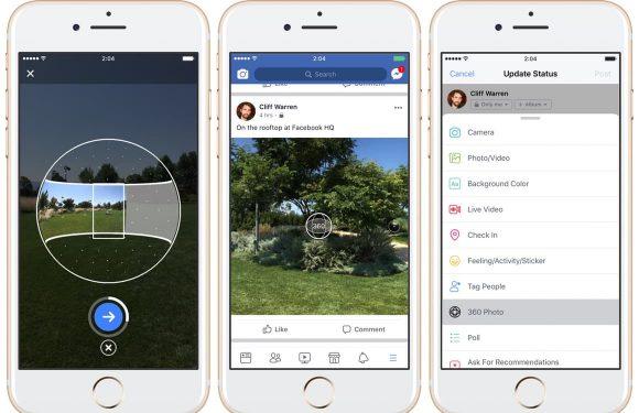 Facebook 360 graden foto