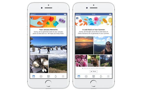 facebook herinneringen