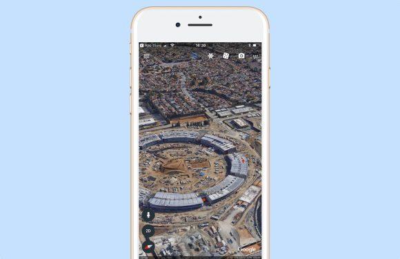 Google brengt vernieuwde Google Earth uit voor iOS