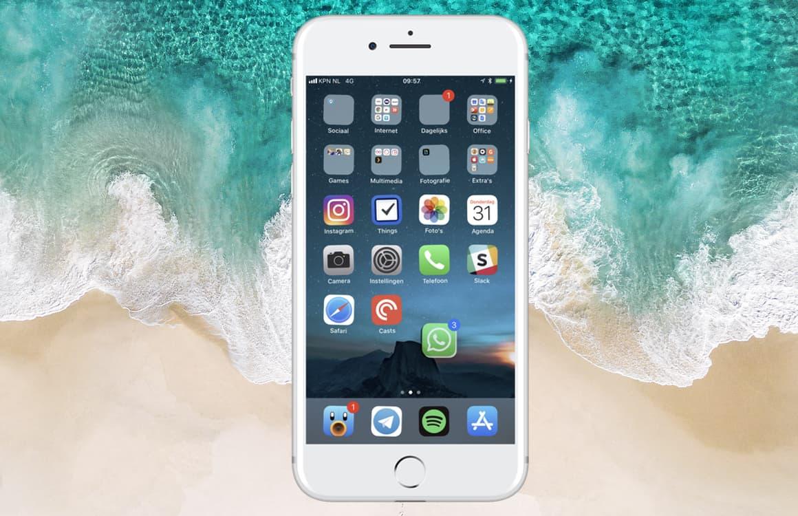 Tip: Zo verplaats je meerdere apps tegelijk met iOS 11