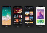 Zo kunnen populaire apps eruit zien op de iPhone 8